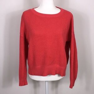 Loft Coral Pullover Sweater